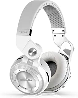 Bluedio T2S Bluetooth Headphones On Ear with Mic, 57mm Driver Rotary Folding Wireless Headset, Wired and Wireless Headphon...