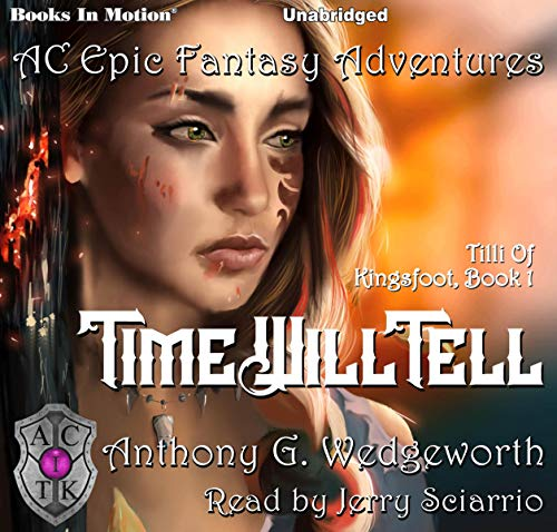 Time Will Tell audiobook cover art