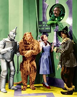 New 8x10 Photo: Cast of The Wizard of Oz; Judy Garland, Ray Bolger, Bert Lahr