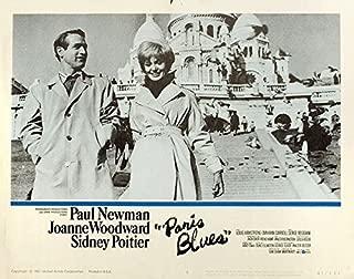 Paris Blues 1961 U.S. Scene Card