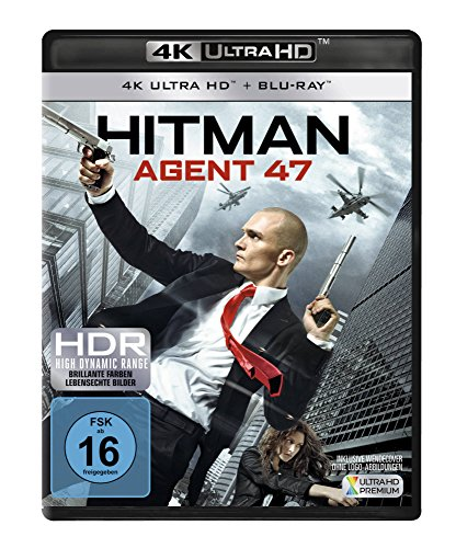 Hitman: Agent 47 (4K Ultra HD) (+ Blu-ray)