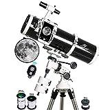 Telescope, Gskyer 130EQ Professional Astronomical Reflector Telescope, German Technology Scope, EQ-130 (EQ-130)