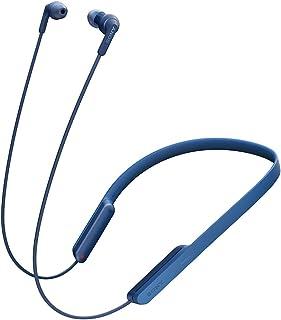 ソニー ワイヤレスイヤホン MDR-XB70BT : Bluetooth対応 リモコン?マイク付き ブルー MDR-XB70BT L