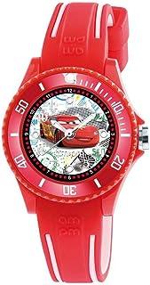 AM:PM Disney Cars DP186-K476 - Reloj de pulsera analógico infantil (silicona)