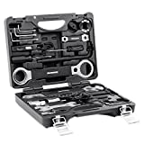 IRONARM Best Value Professional Bicycle Tool Kit Professional Tool Kit. Good Bicycle Repair Tools, Wrench, Chain, Spanner, Allen Key Set and More.