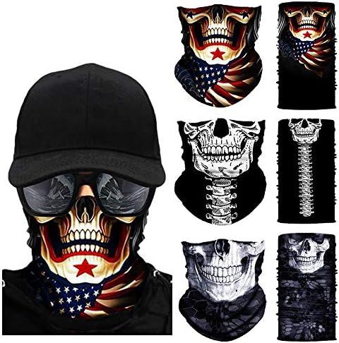 3Pcs Neck Gaiter for Men Women Balaclava Face Cover Scarf Bandana Outdoor product image