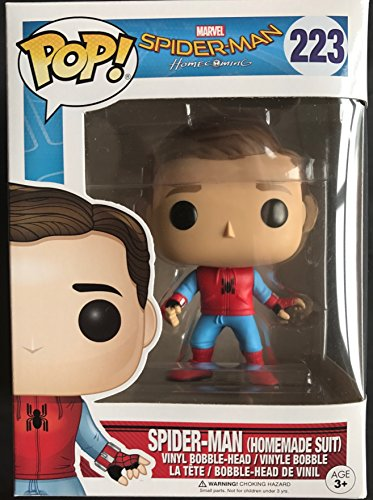 Marvel Funko 13316 Spiderman Figurine de Spiderman sans Masque