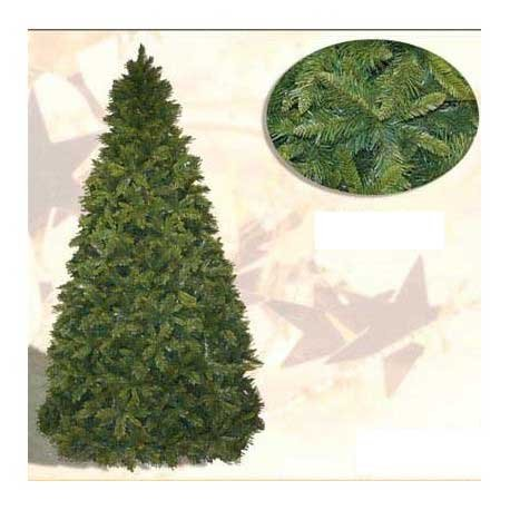 albero di natale ontario albero di natale sintetico altezza 270 cm numero di rami 2600 modello abete-ontario