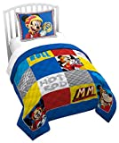 Jay Franco Disney Junior Mickey Mouse The Roadster Racers Twin/Full Quilt (Official Disney Junior Product)