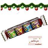 Pringles Christmas Cracker 2020 - Juego de 4 botes de 40 g de bocadillos navideños