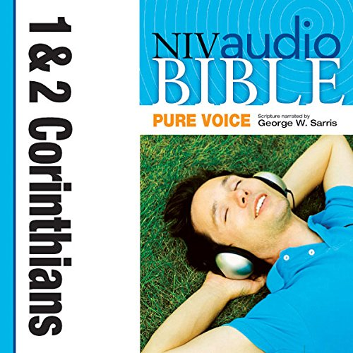 NIV Audio Bible, Pure Voice: 1 and 2 Corinthians cover art