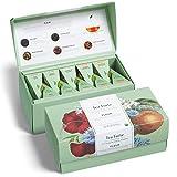 Tea Forte Fleur   Caja de 20 infusores piramidales   Surtido de 5 tés selección El Jardín Botánico de New York  