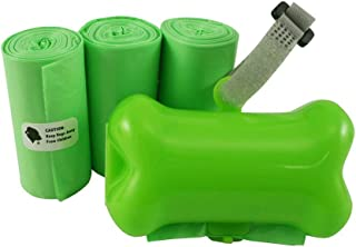 Gorilla Supply 60 Pet Poop Bags with Dispenser, EPI Technology, 3 Rolls