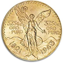 MX Mexican Gold Peso (Dates Vary) 50 Peso About Uncirculated