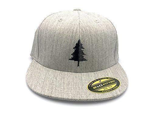 Amazon Com Baseball Hat By Black Lantern Baseball Hats For Men And Women With Your Choice Of Flat Bill Curved Bill Snapback Or Fitted Options Split Tree Design Handmade