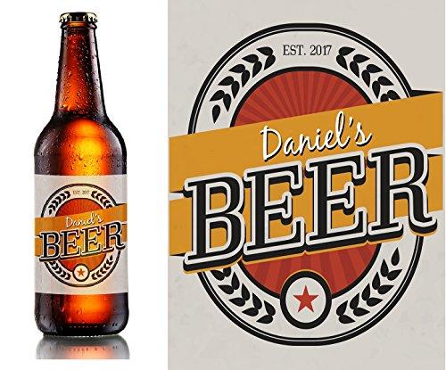 20x etiquetas de personalizado cerveza casera–botella de cerveza etiquetas personalizadas–4