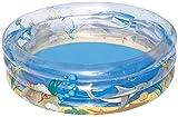 Bestway 51048 - Piscina Hinchable Infantil Transparent Sea Life 201x53 cm