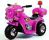 Trendsky Elektrisches Kindermotorrad Elektrofahrzeug Polizei Bike Elektromotorrad Akku Motor für...