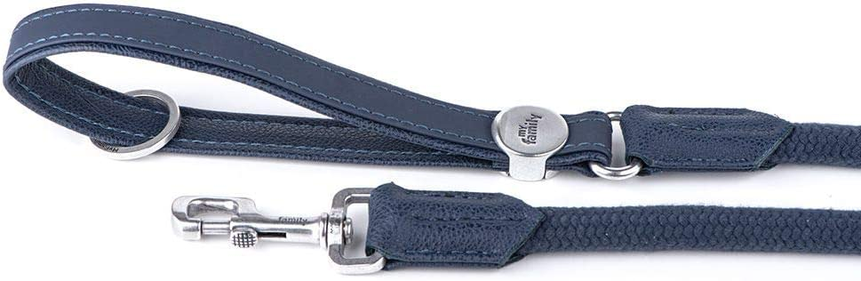 My Family Bilbao Premium Italian Faux Max 73% OFF Rope Chicago Mall Leather M for Leash