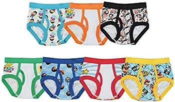 7-Pack Ryan's World Boys Underwear (2T, 3T, 4T, 4, 6 & 8 sizes)