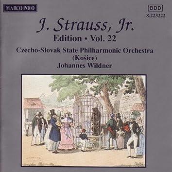 STRAUSS II, J.: Edition - Vol. 22