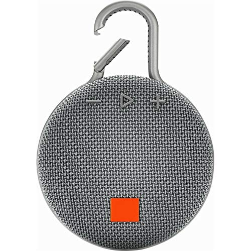 Altavoz INALÁMBRICO PORTÁTIL con Bluetooth Resistente AL Agua 10H DE MÚSICA Continua CLIP3 (Gris)