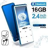Lecteur MP3 MYMAHDI avec Bluetooth 4.2, Boutons tactiles avec écran de 2,4 Pouces, Lecteur Audio...