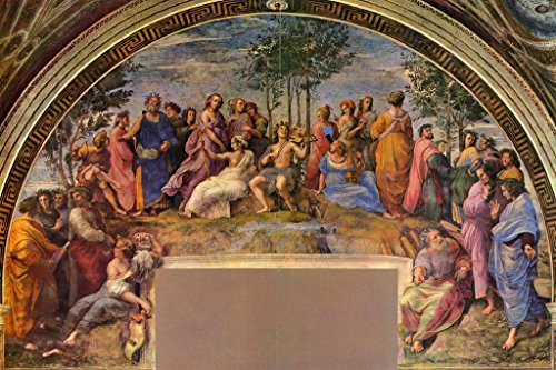 Raphael The Parnassus Fine Art Cool Wall Decor Art Print Poster 36x24