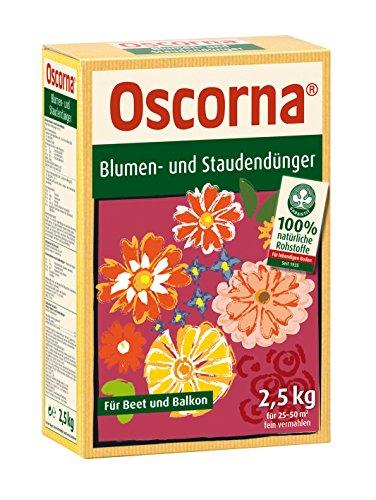 Oscorna Engrais pour Fleurs et Plantes vivaces 2,5 kg