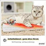 PiuPet® Coussin auto-chauffant pour chat & chien, Taille: 60x45cm, Sans électricité & batteries, Tapis/Couverture thermique, Innovant & écologique