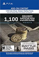 1,100 Call of Duty: Modern Warfare Points - PS4 [Digital Code]