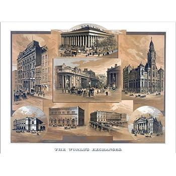 Poster 40 x 30 cm: Börsen der Welt von Everett Collection - hochwertiger Kunstdruck, neues Kunstposter
