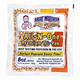 4108 Great Northern Popcorn Premium 8 Ounce (Pack of 40)