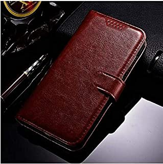 Phone Case & Covers - Luxury Leather Flip Book style Case For Tecno Camon 12 Air Coque Wallet Stand Card Holder Case For T...