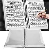Cartella a tema musicale, A4 impermeabile Cartella per spartiti in ABS File Documenti cart...