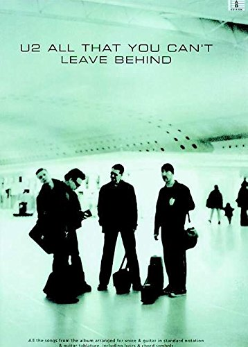 Partition : U2 All That You Can\'T Leave Behind Tab