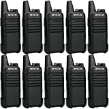 Retevis RT622 Walkie Talkie Profesionales, PMR446 sin Licencia, VOX Scan 16 Canales CTCSS DCS, Recargable Equipos Transmisores-receptores, Walki Talky para Transportation Logistics (10 Pcs)