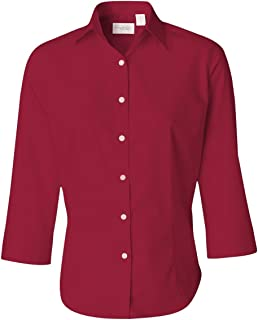 red and white vans shirt womens