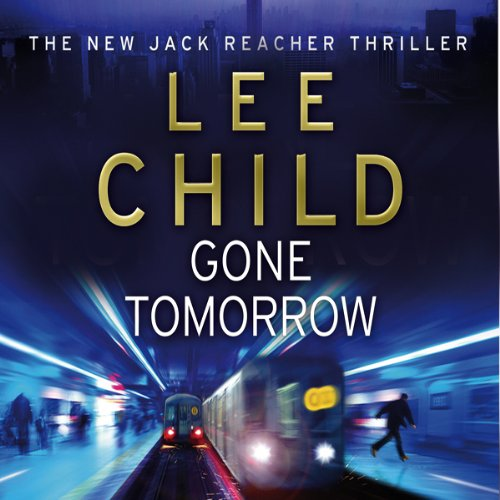 Gone Tomorrow audiobook cover art