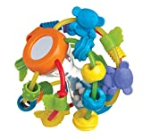 Playgro 4082679107 Play and Learn Ball for Baby Infant Toddler Children, Playgro is Encouraging Imagination with STEM/STEM for a Bright Future - Great Start for a World of Learning