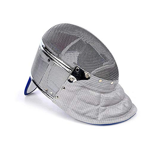 Fechten Saber Maske Ce 350N Certified National Grade Maske, Erwachsene Kinder Gesicht Fechten,Greydetachable,M