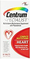 Centrum Specialist Heart, 60 Count (Pack of 3) by Centrum
