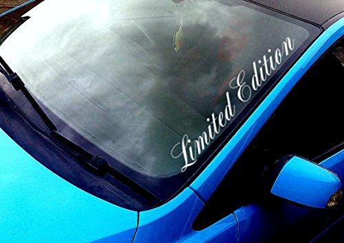 My Rock Shirt 'Limited edition parabrezza 50cm Sticker Adesivo Auto TUNIG Decal + Estrel Lina di kit di Rakel®