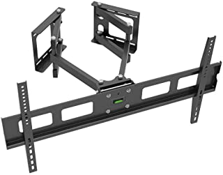 Monoprice Cornerstone Series Full-Motion Articulating TV Wall Mount Bracket - for TVs 37in to 63in Max Weight 132lbs VESA ...