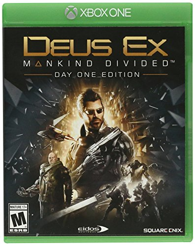 Square Enix Deus Ex Mankind Divided Day One Edition Xbox One Basic Xbox One videogioco