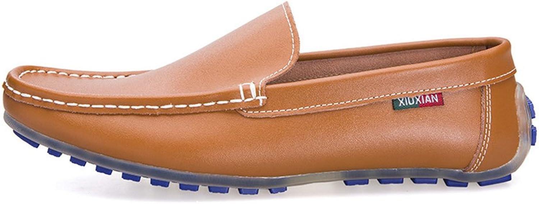 WWJDXZ Klassischer Herren Casual Driving Leder Schuhe Mokassin Lssige Herrenschuhe