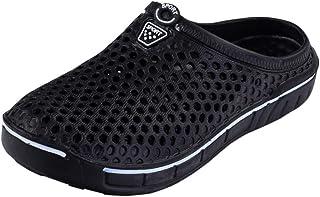 Sabots Mules Hommes Femmes Respirant Chaussures De Jardin De Plage D'ÉTé Pantoufle De Maison Chaussons D'IntéRieur ExtéRie...