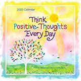 "Blue Mountain Arts 2020 Calendar ""Think Positive Thoughts Every Day"" 12 x 12 in. 12-Month Hanging Wall Calendar Can Help You Look on the Bright Side All Year Through"