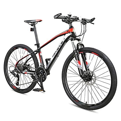 BMDHA Luces Bicicleta Freno De Disco De Aceite Doble,Bicicleta De montaha 30 Velocidades 27,5 Pulgadas,Bicicleta Bloquear La Horquilla Delantera Amortiguadora