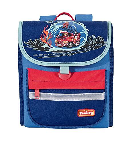 Scout Kinder-Sporttasche Minieasy Feuerwehr Blau 20080054900